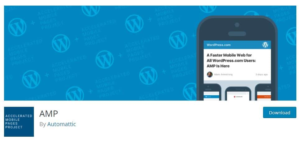Plugin AMP para WordPress