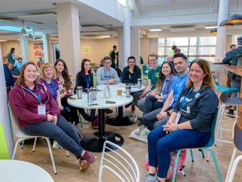 Marketing chat at WordCamp London