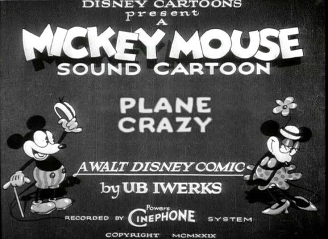 Mickey Mouse in Plane Crazy