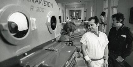 Jack Nicholson on Set
