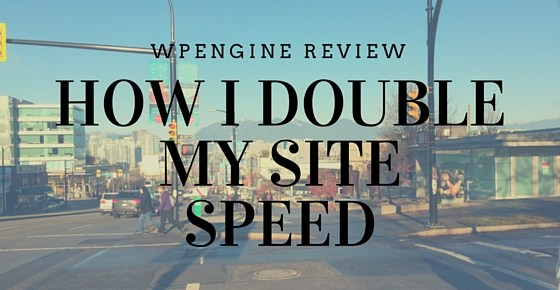 How I Double the speed of my site