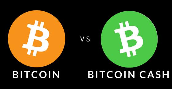 Bitcoin vs BitcoinCash