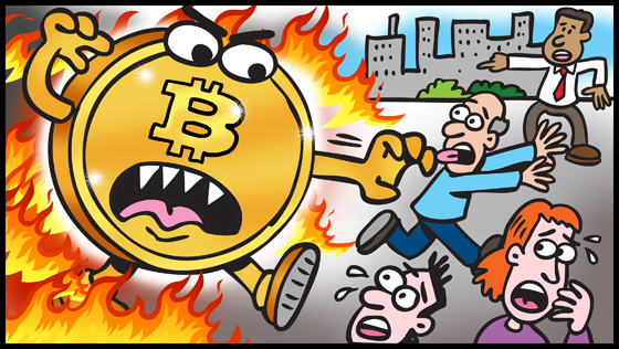 Bitcoin will kill the middle class.