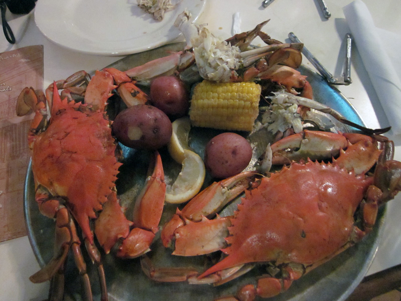 Spicy Blue Crabs