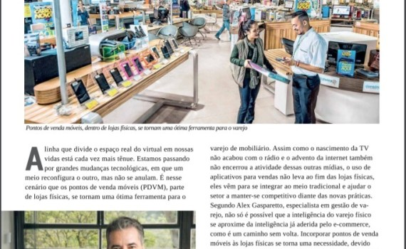 PDV móvel nas lojas físicas