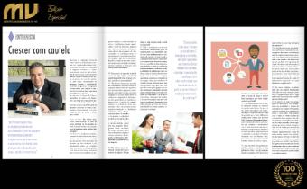 """Estou na Edição Especial da Revista Móveis de Valor Norte & Nordeste com a entrevista """"Crescer com cautela"""""""