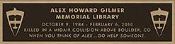 Alex Gilmer Memorial Library at Rocky Mountain Flight School