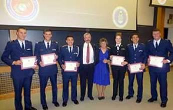 2017 Alex Gilmer Memorial Flight School Scholarship Recipients