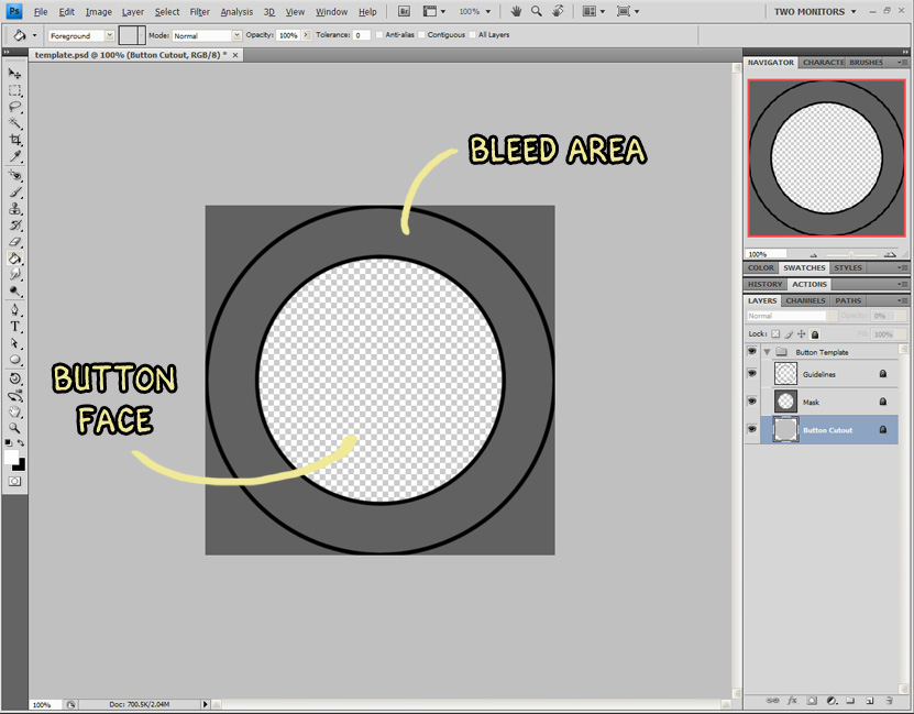 Alexs guide to buttons step 1 the template maxwellsz