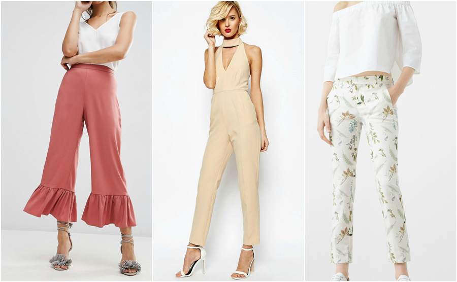 House Party Wear Fashion Engagement Trousers Jumpsuit