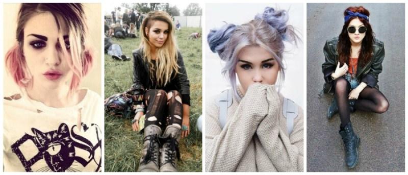 Modern Grunge Hairstyles
