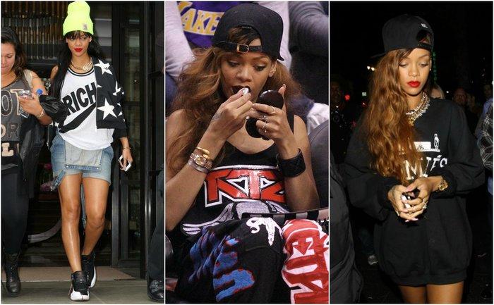 Rihanna Hip Hop Outfit Style