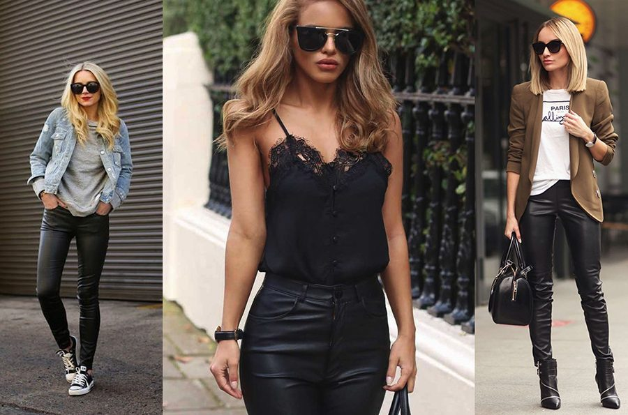 1b7dde54 How To Wear Leather Pants - We Reveal the Killer Secrets You Need