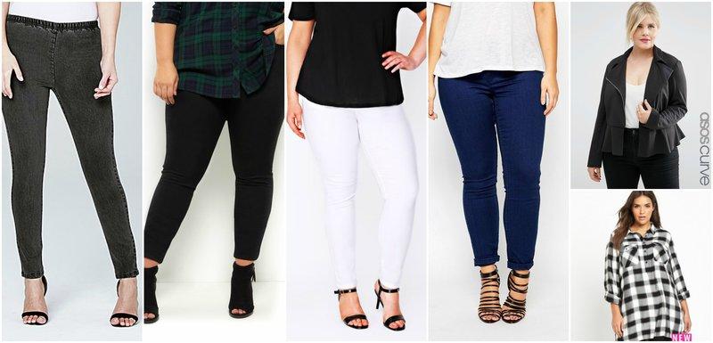 Curvy Women Skinny Jeans