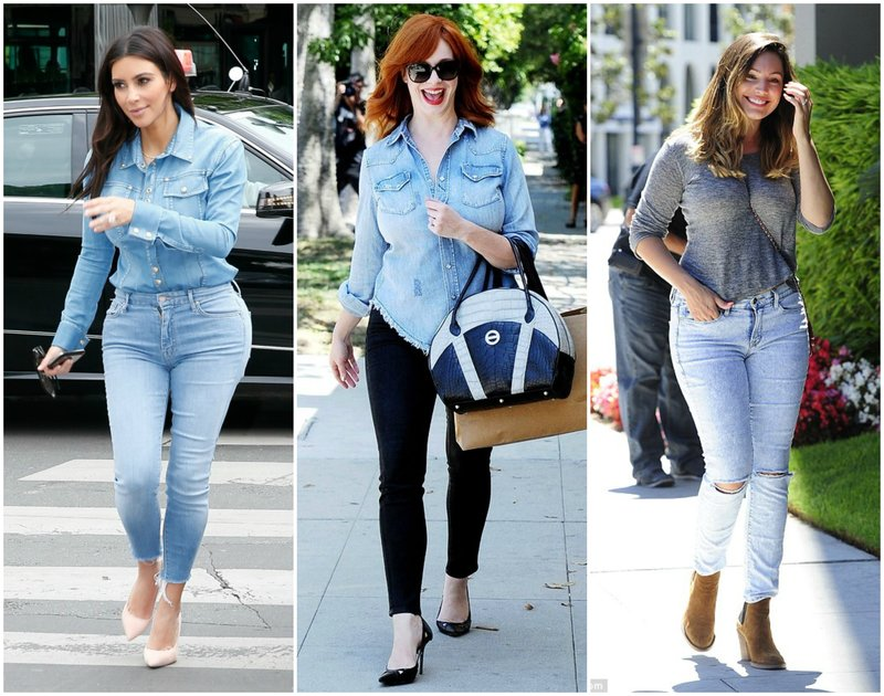 Jeans for Hourglass Shaped Women