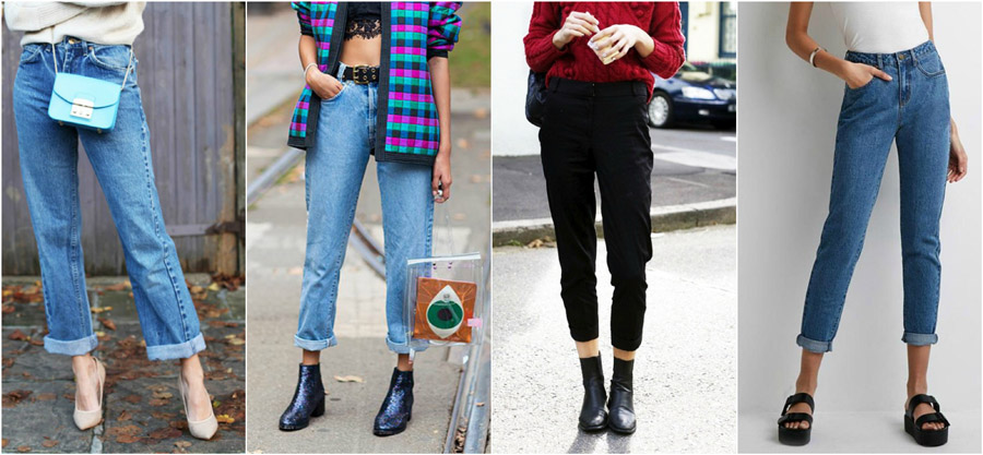 Shoes Boots Flatforms Heels High Waist Jeans Style Fashion Women Guide Street Celebrity Outfit Inspiration