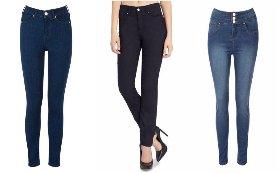 Skinny High Waist Jeans Shop Grid Alexie 2