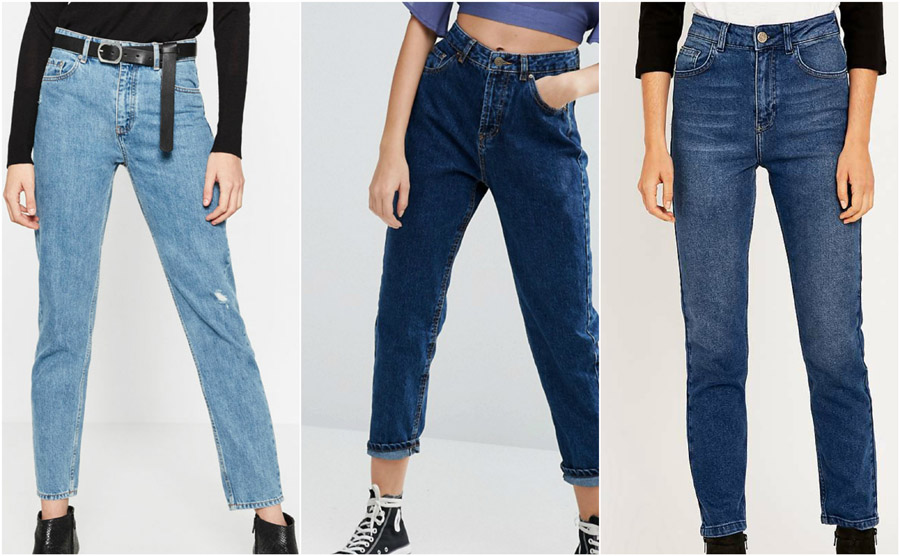 How should high waisted jeans fit