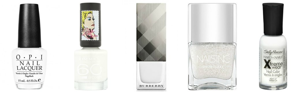 best white nail varnish