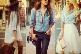 Denim shirt outfit ideas