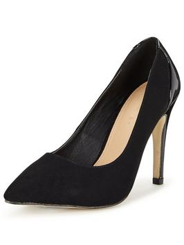 Suede Point Court Shoe