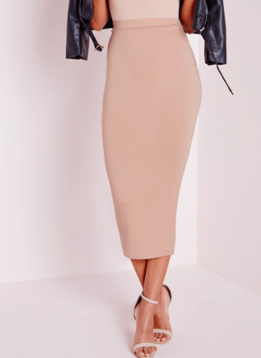 Missguided Jersey Pencil Skirt £24