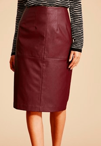 Matalan Soon PU Pencil Skirt £18