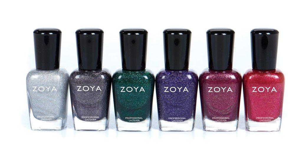 Zoya Winter Metallics