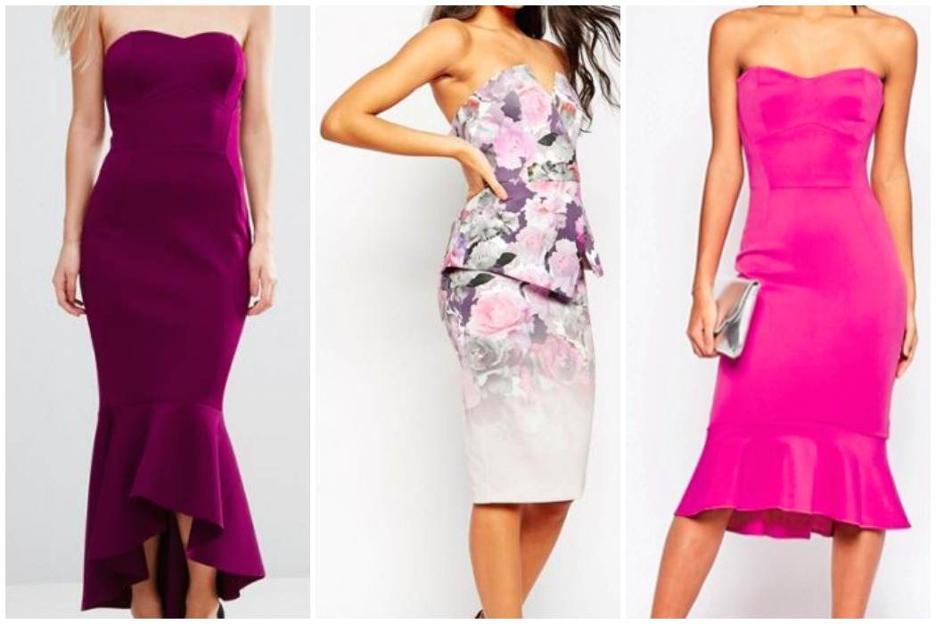 girly-glam-peplum-dresses