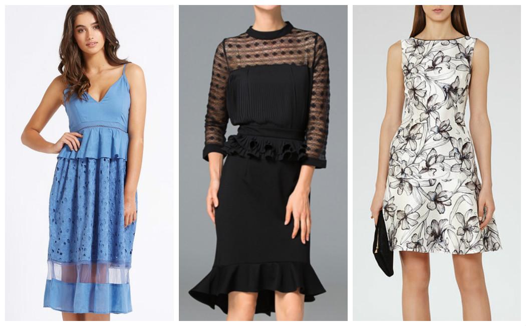 patterned-peplum-dresses