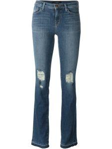 J Brand Distressed Bootcut Jeans £306.00