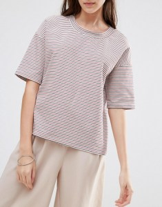 Vila Striped Boxy Top at ASOS £16.00