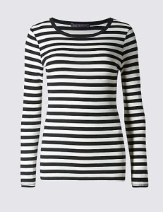 Marks and Spencer Striped Long Sleeved Top £8.50