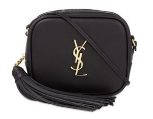 SAINT LAURENT Monogram Leather Shoulder Bag £645