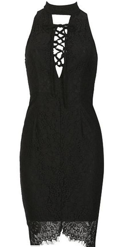 Izabel London Choker Lace Bodycon Dress £15