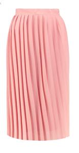 Boohoo Night Aura Pleated Chiffon Midi Skirt £13