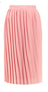 Boohoo Night Aura Pleated Chiffon Midi Skirt £13