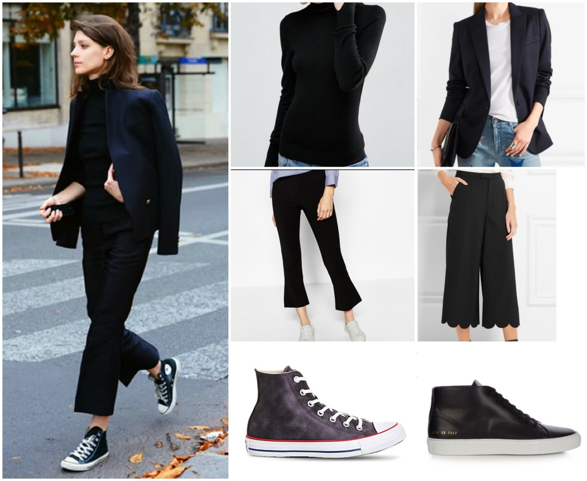 Converse and trousers