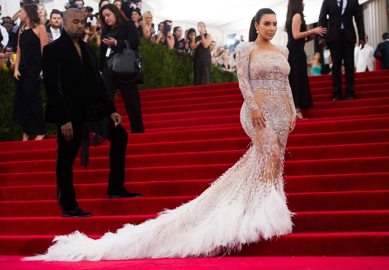 kim kardashian nearly naked dress