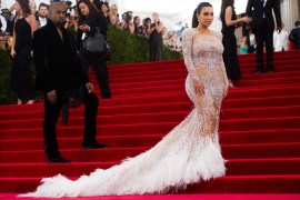 kim kardashian nearly naked dress