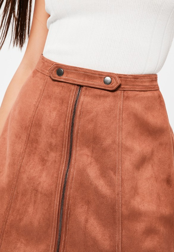 Missguided Tan Skirt £25.00