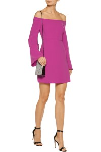 tanya-taylor-off-the-shoulder-crepe-mini-dress