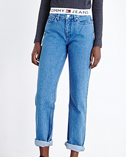 Tommy High-rise Mom Jeans