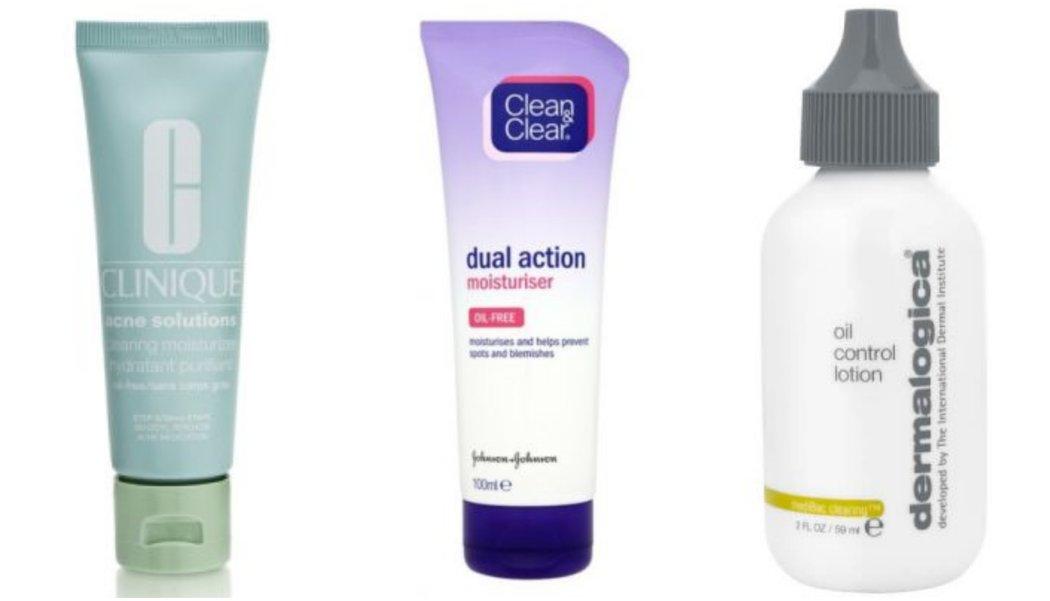 moisturiser for spot prone skin