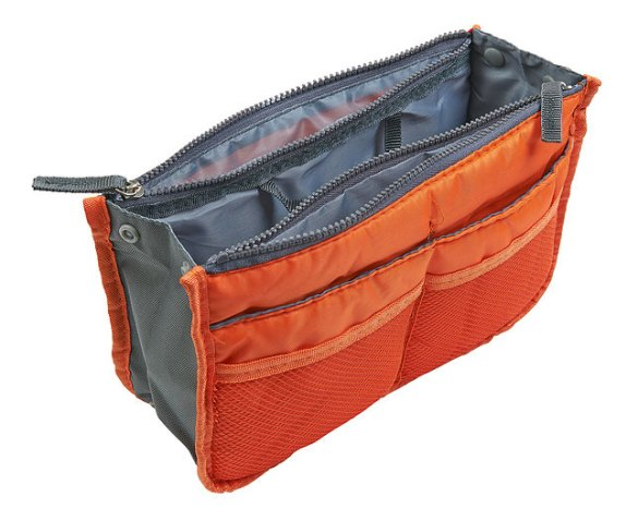 Orange Purse Organiser