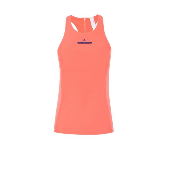 orange run tank stella mccartney adidas