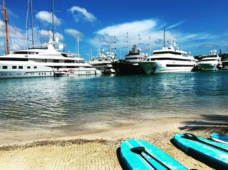 South point antigua stand up paddle board