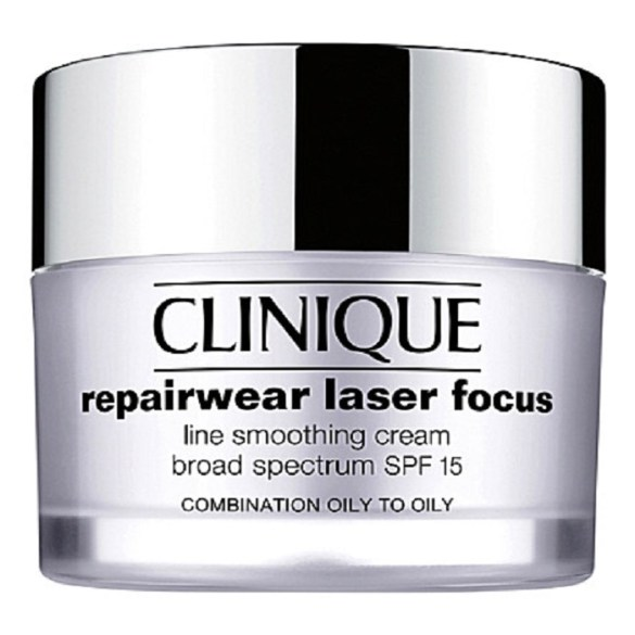 CLINIQUE Repair Wear Laser Focus Night Line Smoothing Cream for Dry Skin