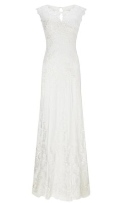 House of Fraser Phase Eight Oriana Embroidered Wedding Dress