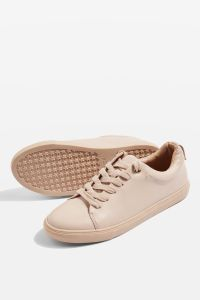 COFFEE Lace Up Trainers
